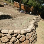 Dry Laid Retaining Wall Construction