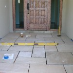 Flagstone Installation