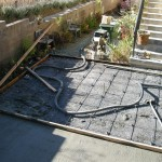 Concrete Base for Flagstone