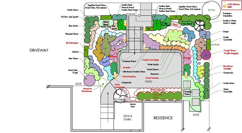 Ornamental Grass Garden Plan Design examples client design feedback corte madera project workwithnaturefo