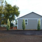 Arizona Cypress to Screen Garage