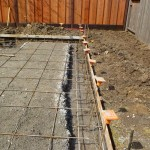 Rebar and Concrete Forms