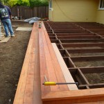 During Construction- Deck Step Construction