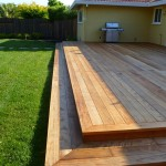 Completed Redwood Deck