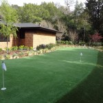 Kentfield Synthetic Turf Putting Green