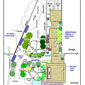 Mill Valley Planting Plan