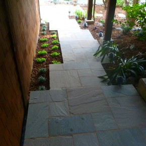 Mill Valley Flagstone Installation- After