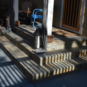 Petaluma Project- Slate steps