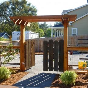 Cotati Reclaimed Lumber Garden Gate