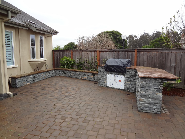 Completed Project- Petaluma BBQ Island | Turned Earth on Backyard Patio Grill Island id=29814